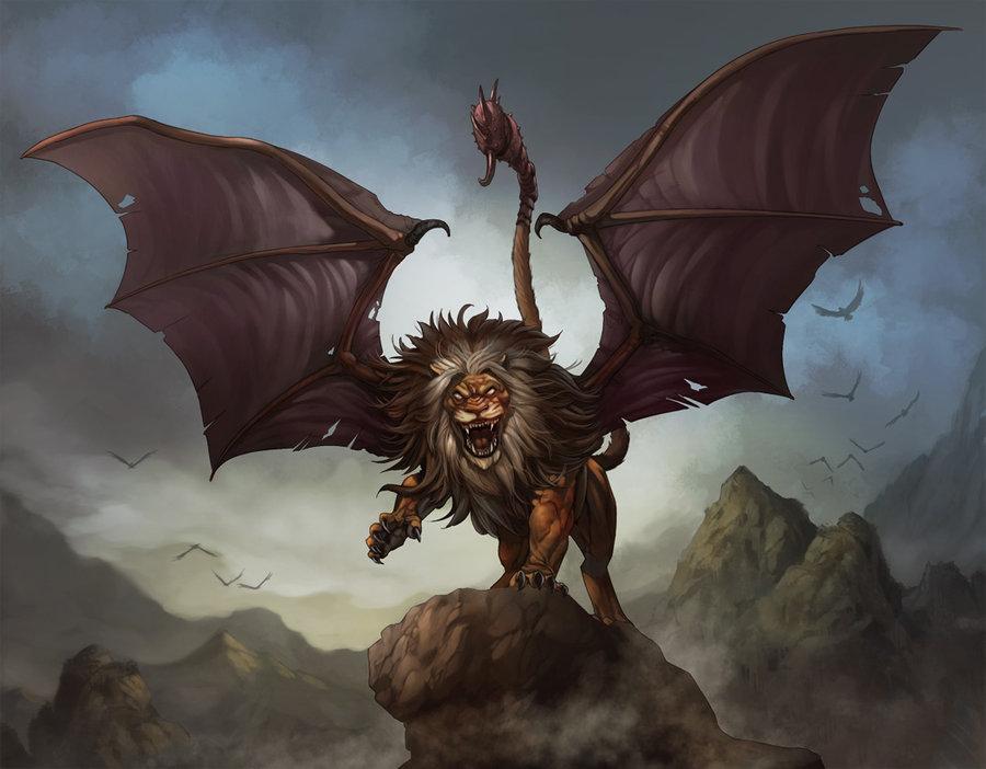 Description des Lieux et monstres présents Tumblr_static_manticore_by_kikicianjur-d384nro