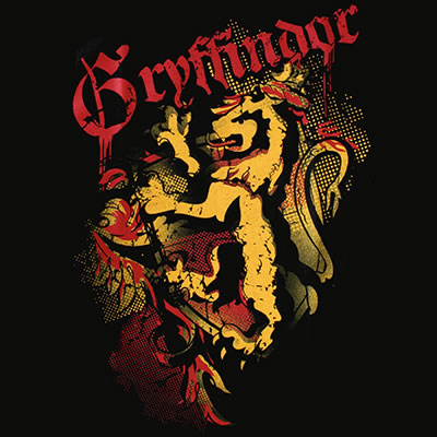 Πώς θα φανταζόσασταν μια σχολή μαγείας στην Ελλάδα; Gryffindor_logo__design_for_t-shirt_