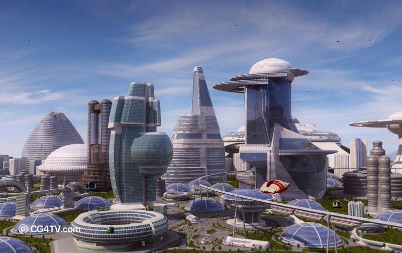 AРХИТЕКТУРА Future_city_downtown