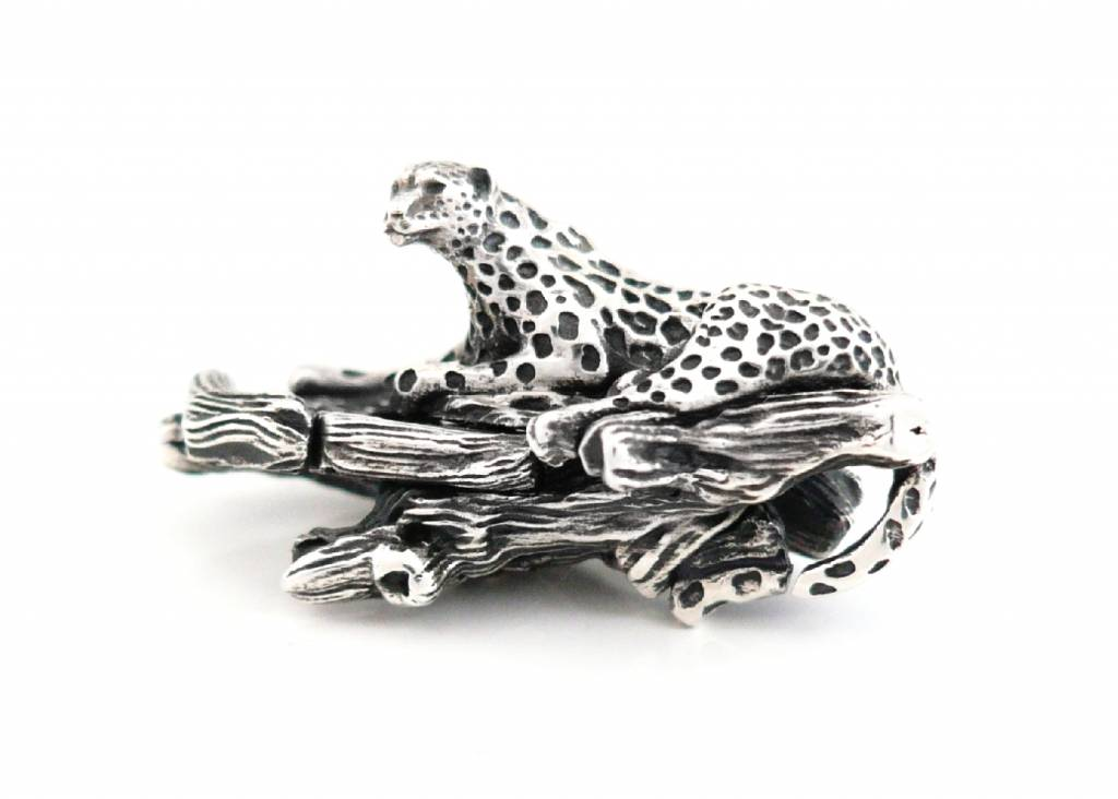 King of the Jungle Faerybeads-leopard-lock