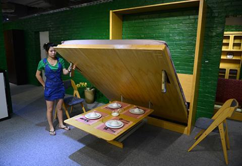 Giường kiêm tủ quần áo, bàn ăn Giuong-ban-an-2