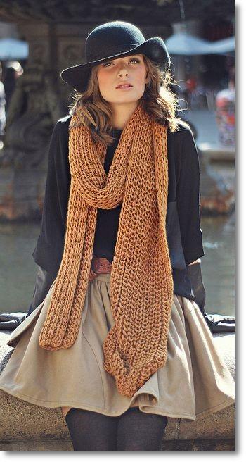 Jesen je vrijeme kada nosimo šalove 3165d486aa2aeb9e8fe61be078f66686