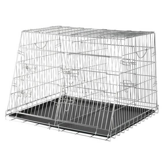Transport en voiture des chiens et chats - Page 8 La_cage-de-transport-double-17637