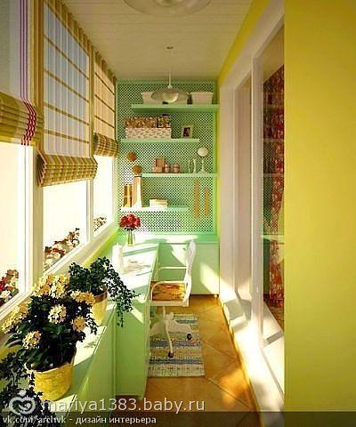 Идеи для оформления балконов и лоджий - Страница 3 22174832.75430035