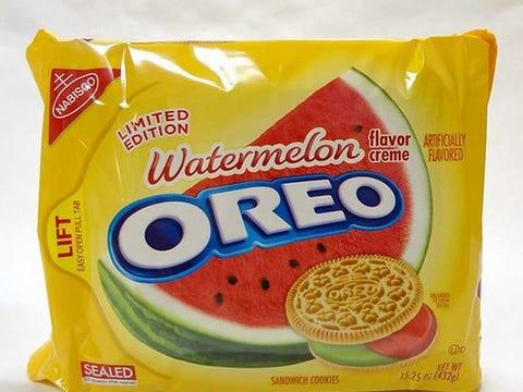 Watermelon Oreos Watermelon-oreos