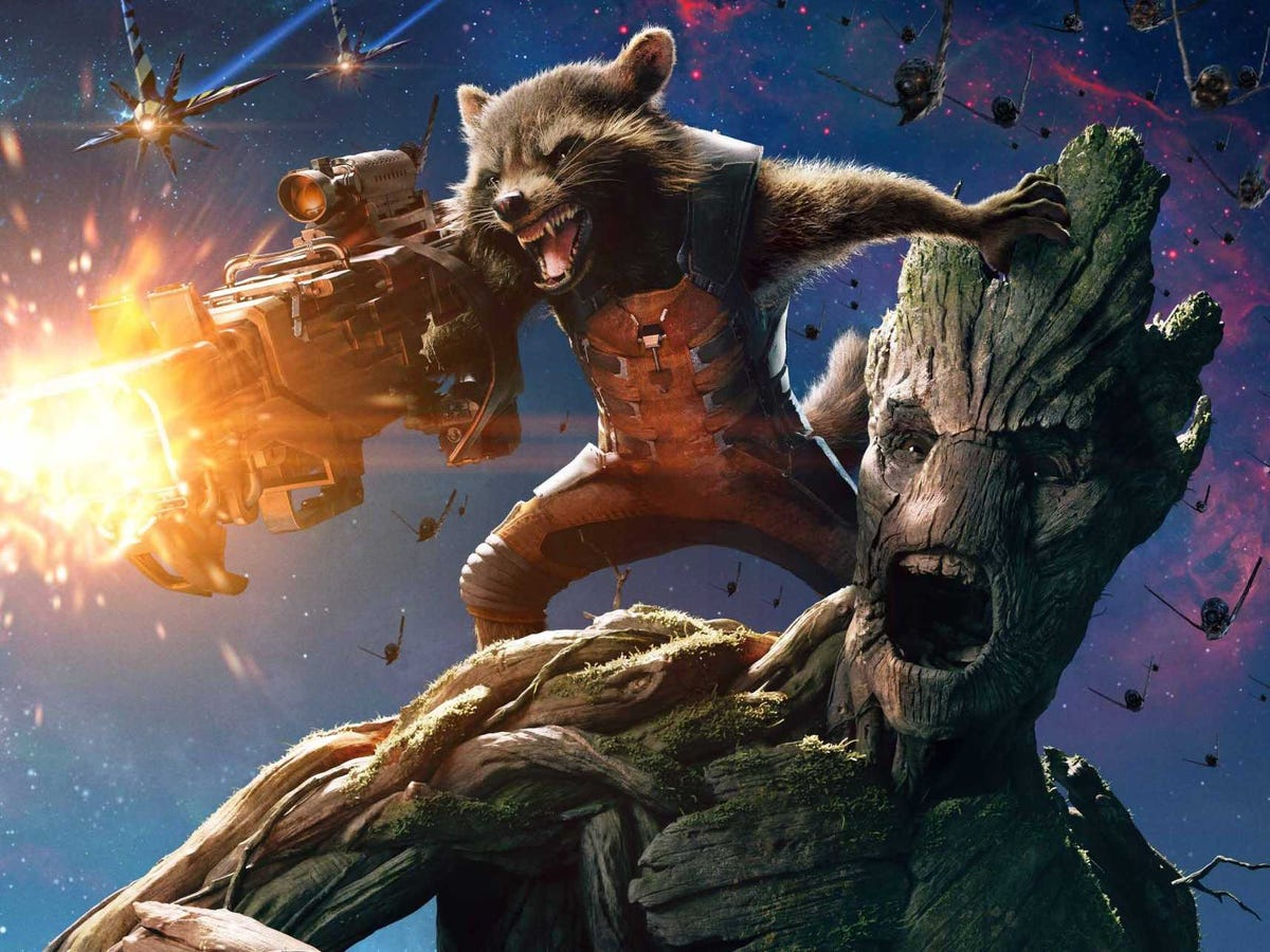What creatures would be in your country in Fallout? - Page 2 Guardians-of-the-galaxy-groot-rocket-2