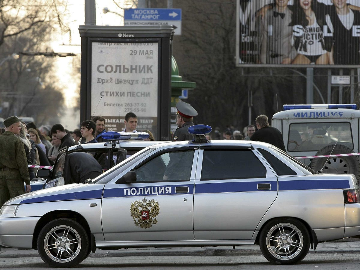 Russian Central Bank Deputy Head Shoots 3 Dead In The Far East Of The Country Before Killing Himself Russia-police-vehicle