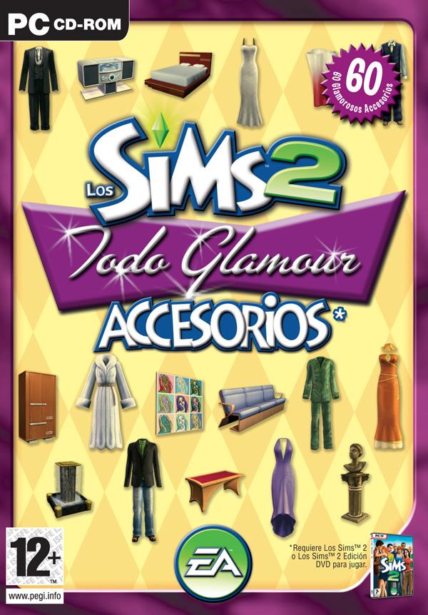 [Imagen]los Sims 2 Todo glamour: Arte conceptual Todoglamourportada