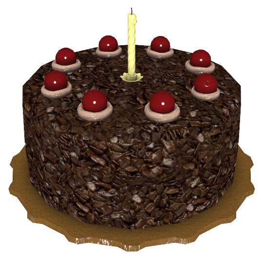 La date d'anniversaire officielle de Tails - Page 2 Cake