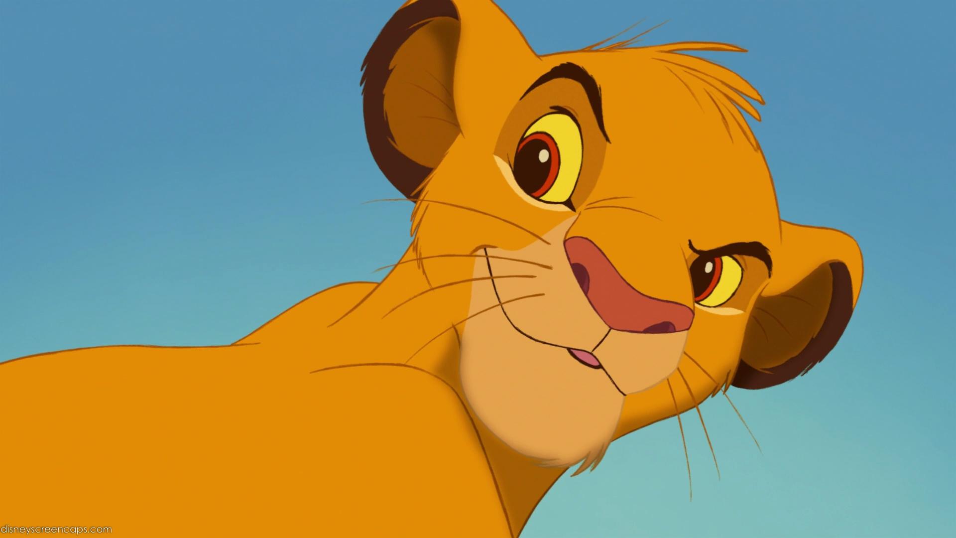 ¿¿¿Simba con distinto color de ojos??? Simba-2-(The_Lion_King)