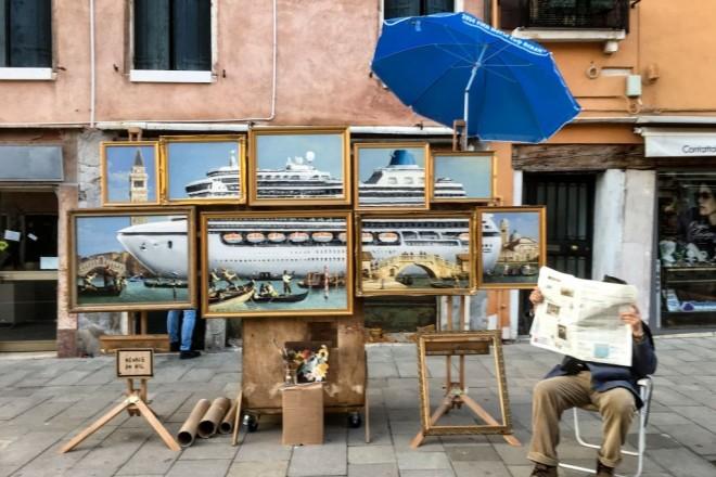 ' Artisti  e pittori da strada' Banksy-venezia-01-660x440