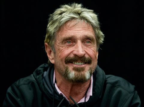 John McAfee: DMT and Other Drugs John-mcafee