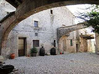50 Céntimos Riudarenes, 1937 Patio-masia-riudarenes_1396-img758845-1570786