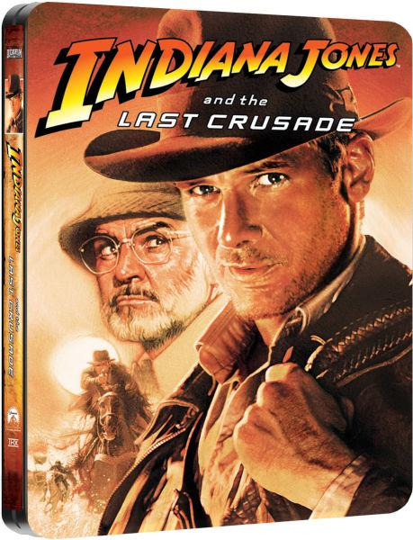 Indiana Jones and the last crusade - Steelbook - Exclue Zavvi 10788016-1363088671-809588
