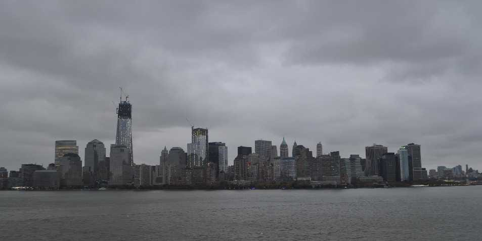 Watch Hurricane Sandy Live From Every Corner Of New York! Downtown-manhattan