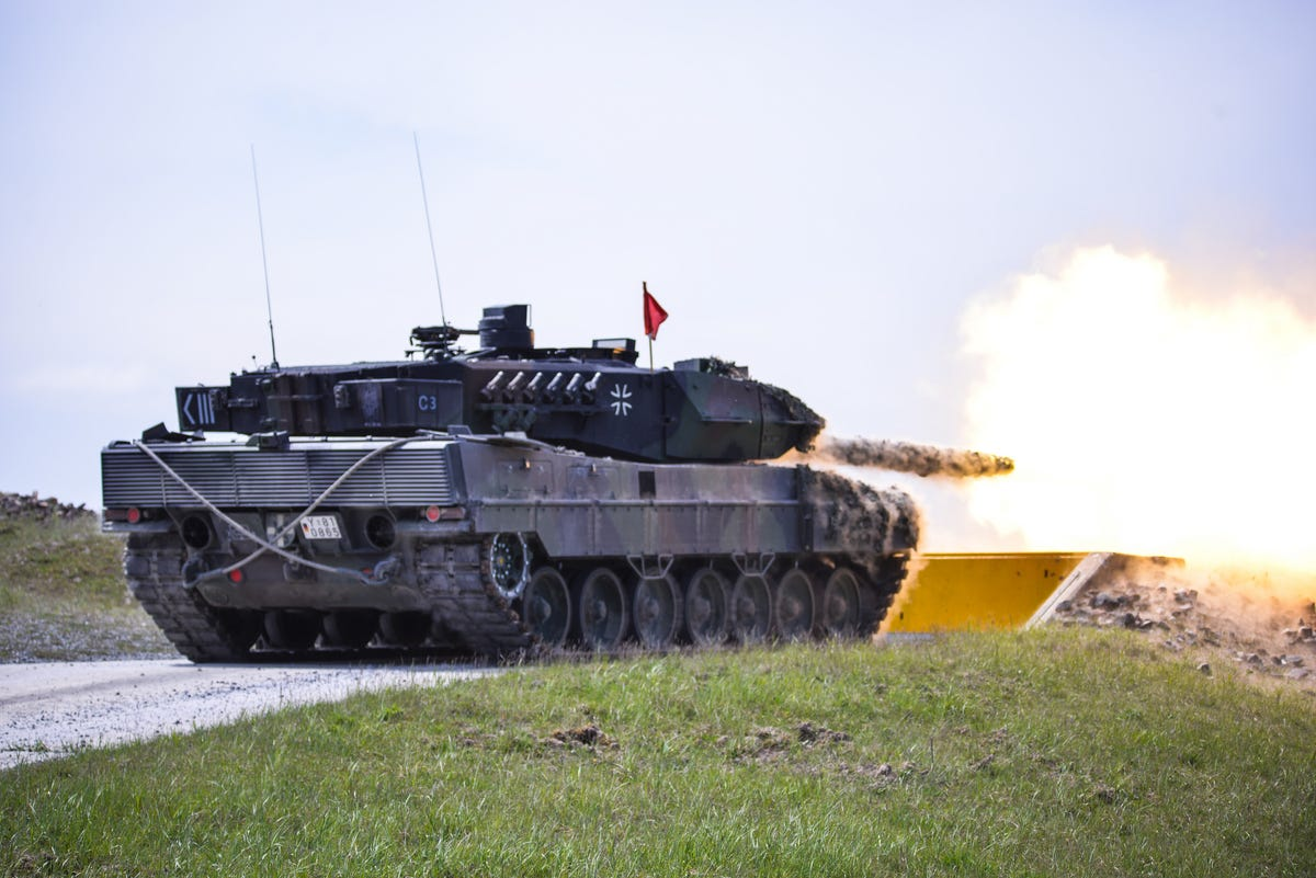 NATO Tank Competition 2016 Here-is-the-german-leopard-2a6-at-the-competition