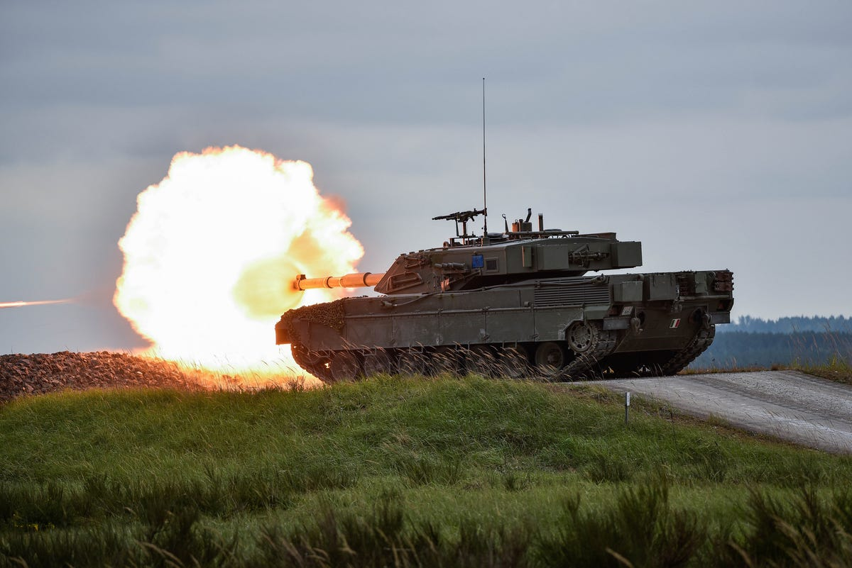 NATO Tank Competition 2016 This-is-italys-ariete-tank-firing-a-round-in-the-competition