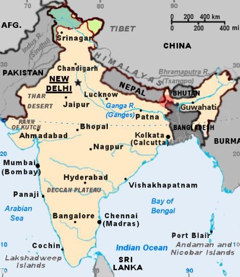 guerra - ¿Qué podría desatar una guerra entre China y la India? Chickensneckindia