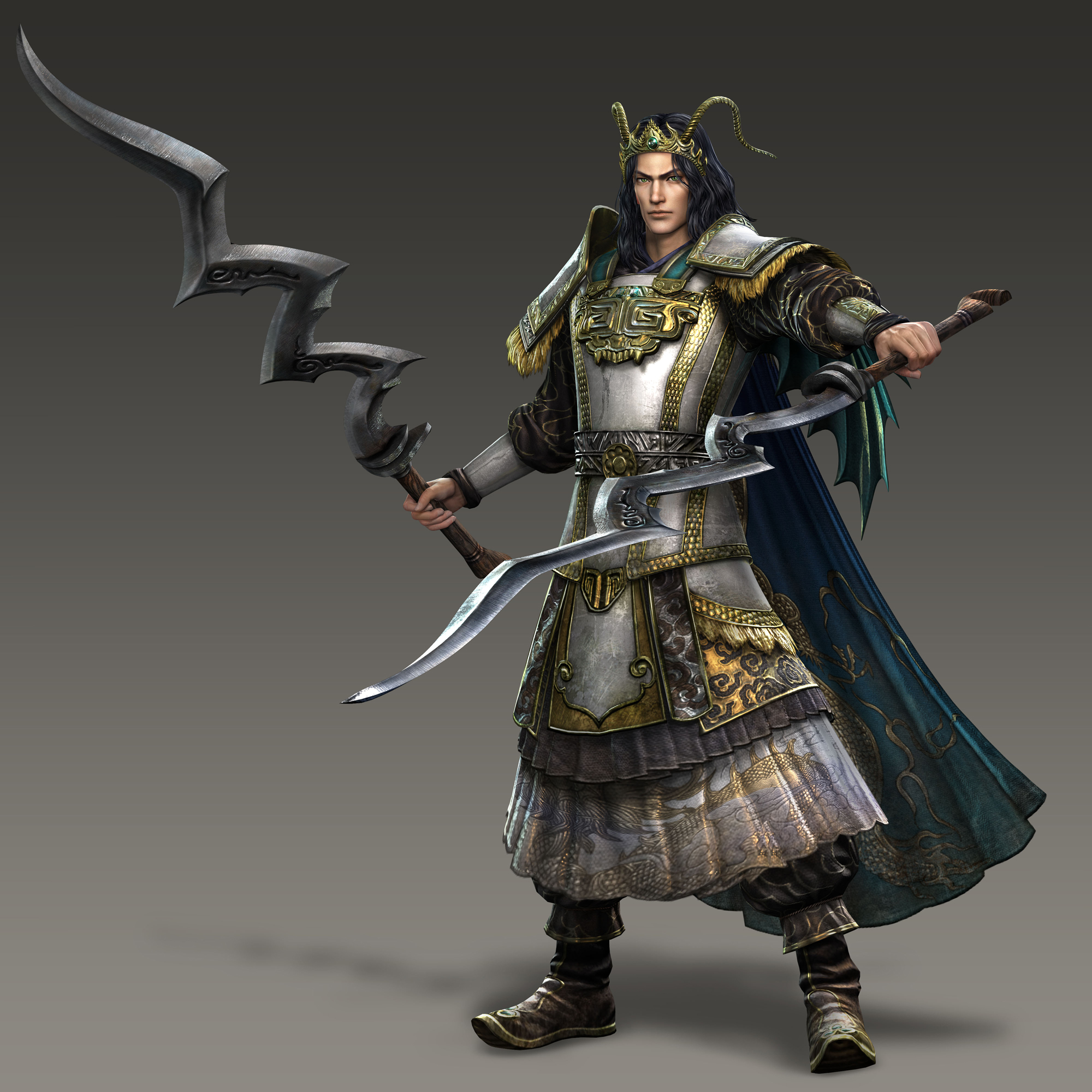 warriors orochi2 ultimate Yinglong_Render_(WO3U)