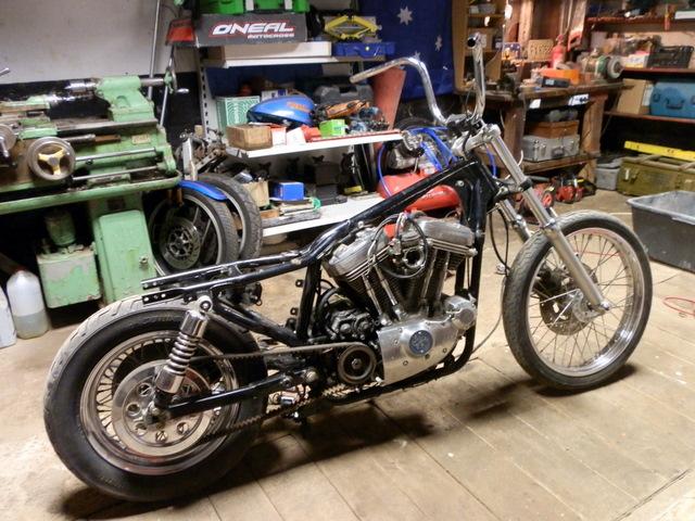 Harley Davidson Sportster 1990, bobber Orig_27649249_K93d