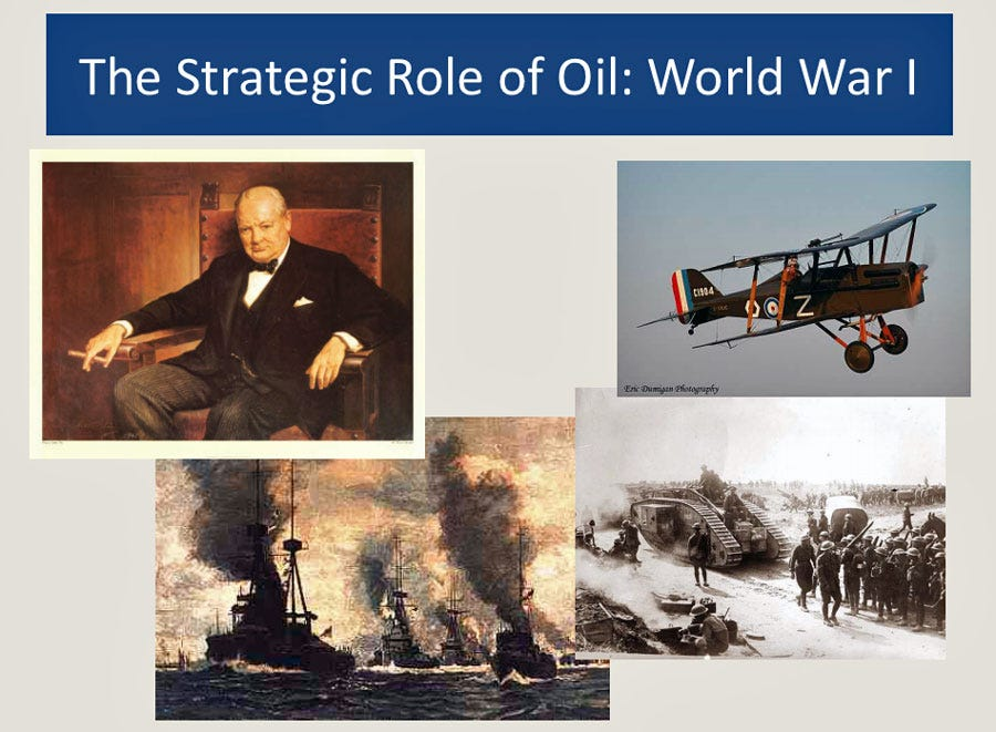 Ian Ashton Boyle from a Facebook Post The-geopolitical-importance-of-oil-became-clear-in-1912-when-the-british-converted-their-warships-from-coal-to-oil