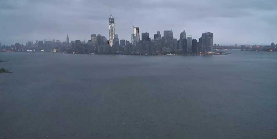 Watch Hurricane Sandy Live From Every Corner Of New York! Statue-of-liberty