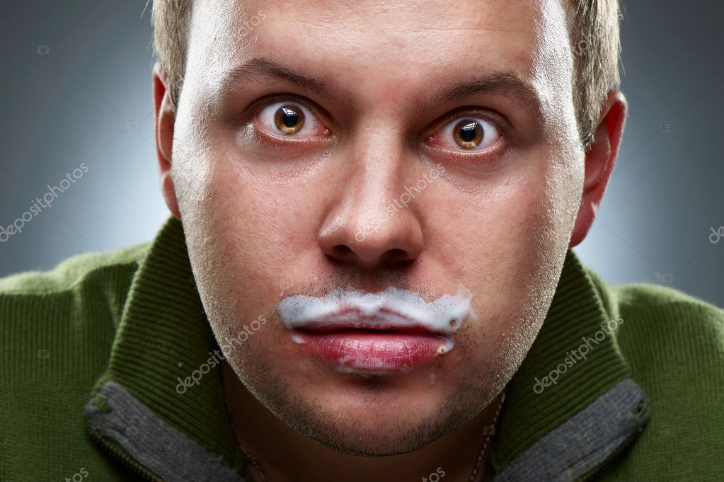 Što sve vole muškarci, prikaži slikom - Page 12 Depositphotos_3869044-Closeup-portrait-of-funny-man.-Yogurt-traces-on-his-lips