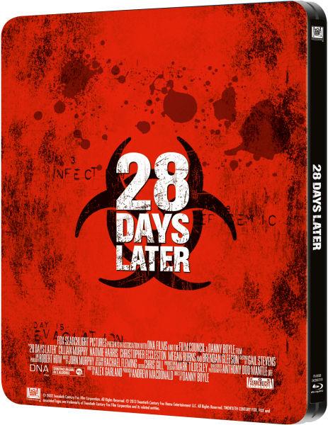28 Days later : Zaavi Exclusive Steelbook 10818320-1371124327-445929