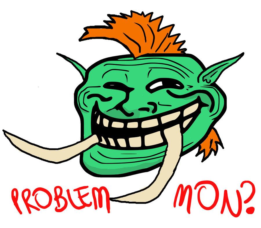 [Dessin] Les dessins de Gromdal - Page 2 Wow_troll_face_by_zarcanian-d3hjrbl