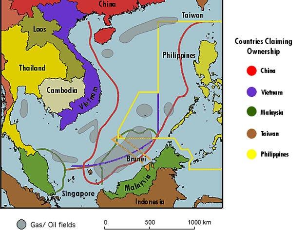 Les relations sino-japonaises sont sur une pente dangereuse South-china-sea