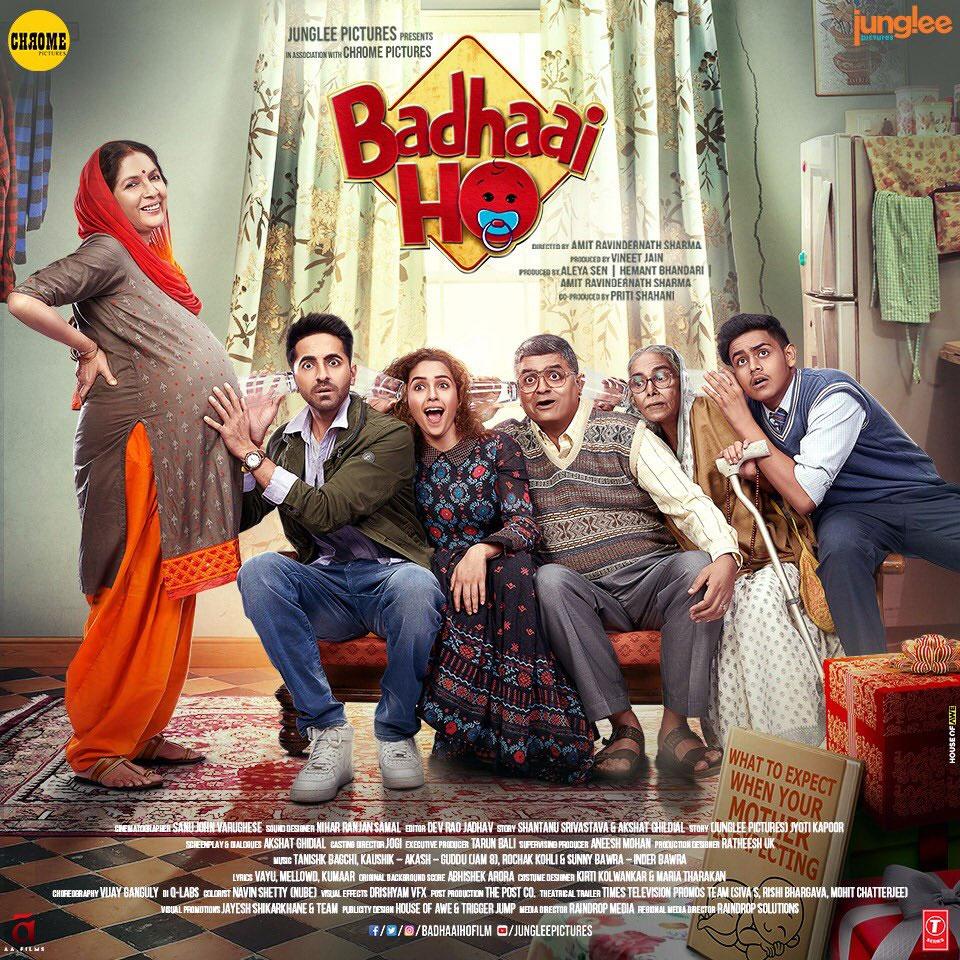 BADHAAI - BADHAAI HO (2018) con Ayushmann Khurrana + Jukebox + Online Español 719183-bh-family