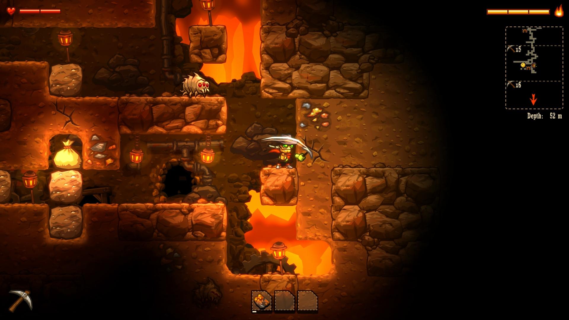 Review: Steamworld Dig (Wii U eShop) SteamWorldDig2_hd