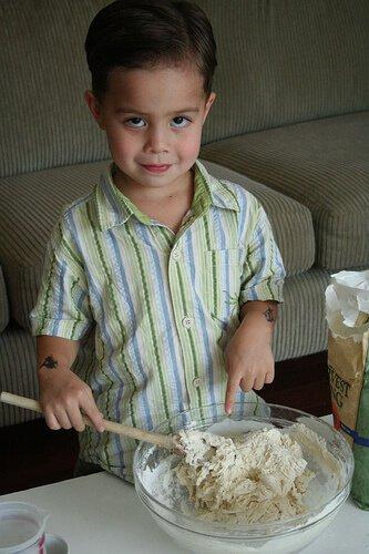 No Knead Bread: so easy a 4-yr old can make it! No-knead-bread6