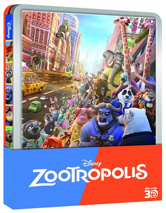 [BD + 3D + DVD] Zootopie (29 Juin 2016)  - Page 3 Zootopia-steelbook-it
