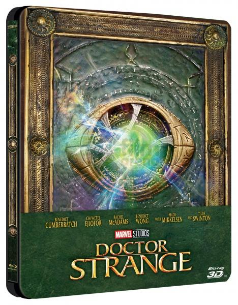 Les jaquettes DVD et Blu-ray des futurs Disney - Page 18 Doctor-Strange-steelbook-EUR