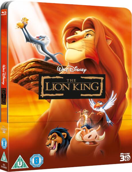 [Débats / BD] Les Blu-ray Disney en Steelbook - Page 39 The-Lion-King-steelbook-zavvi-1