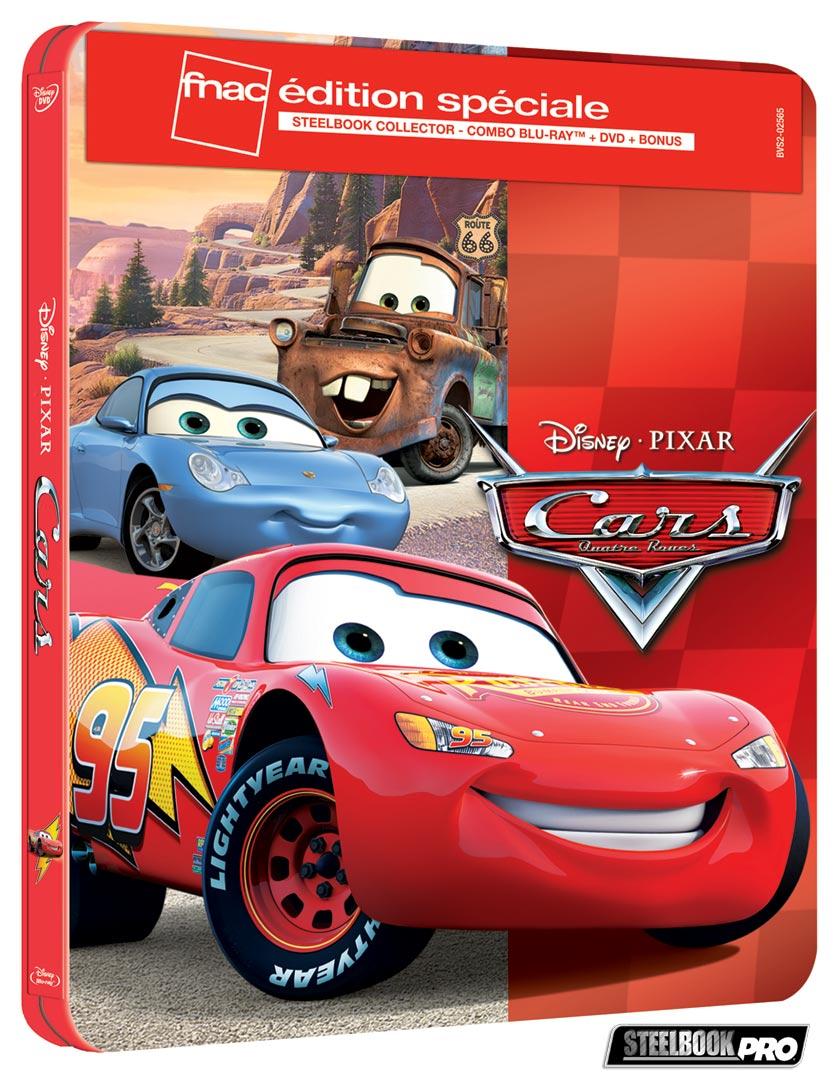 Les Blu-ray Disney en Steelbook [Débats / BD]  - Page 3 Cars-steelbook-fnac