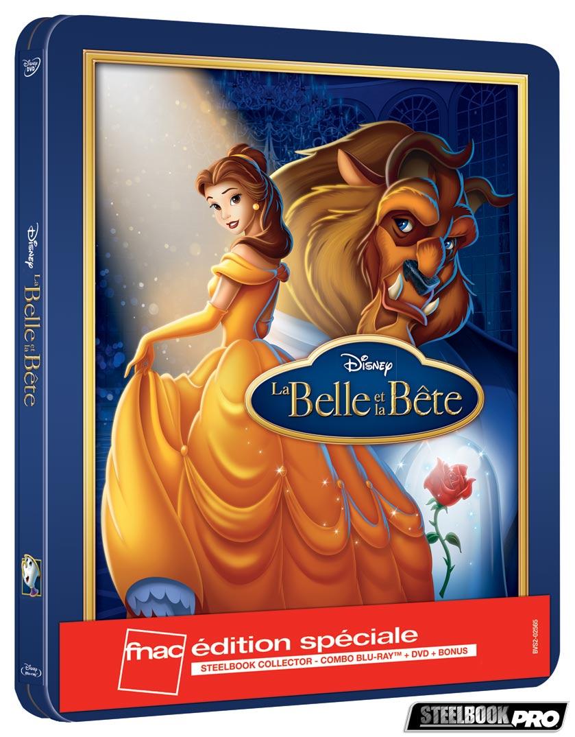 Les Blu-ray Disney en Steelbook [Débats / BD]  - Page 3 La-Belle-et-la-Bete-steelbook-fnac
