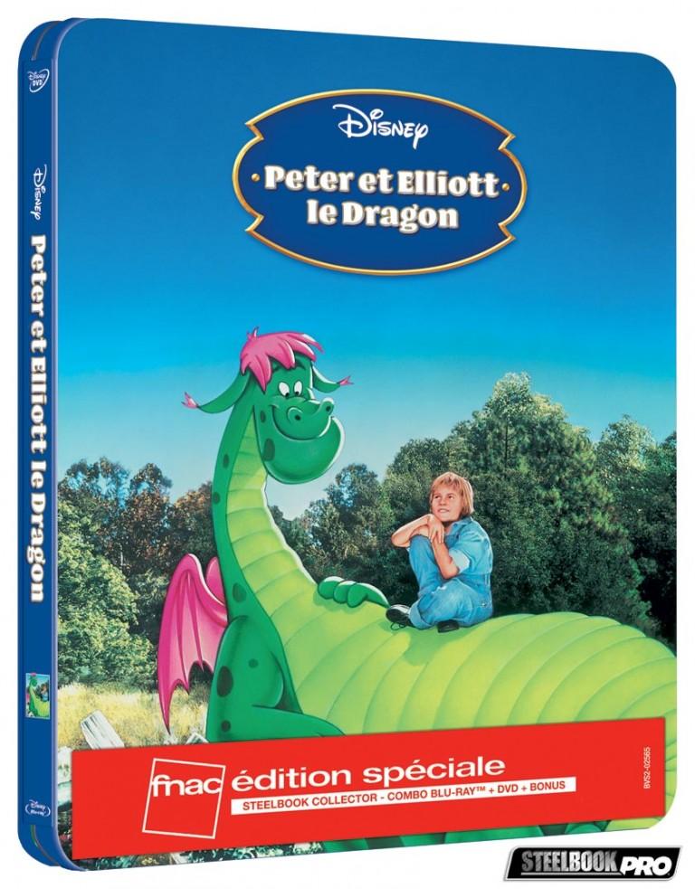 Les Blu-ray Disney en Steelbook [Débats / BD]  - Page 3 Peter-et-Eliott-le-dragon-steelbook-fnac-768x983