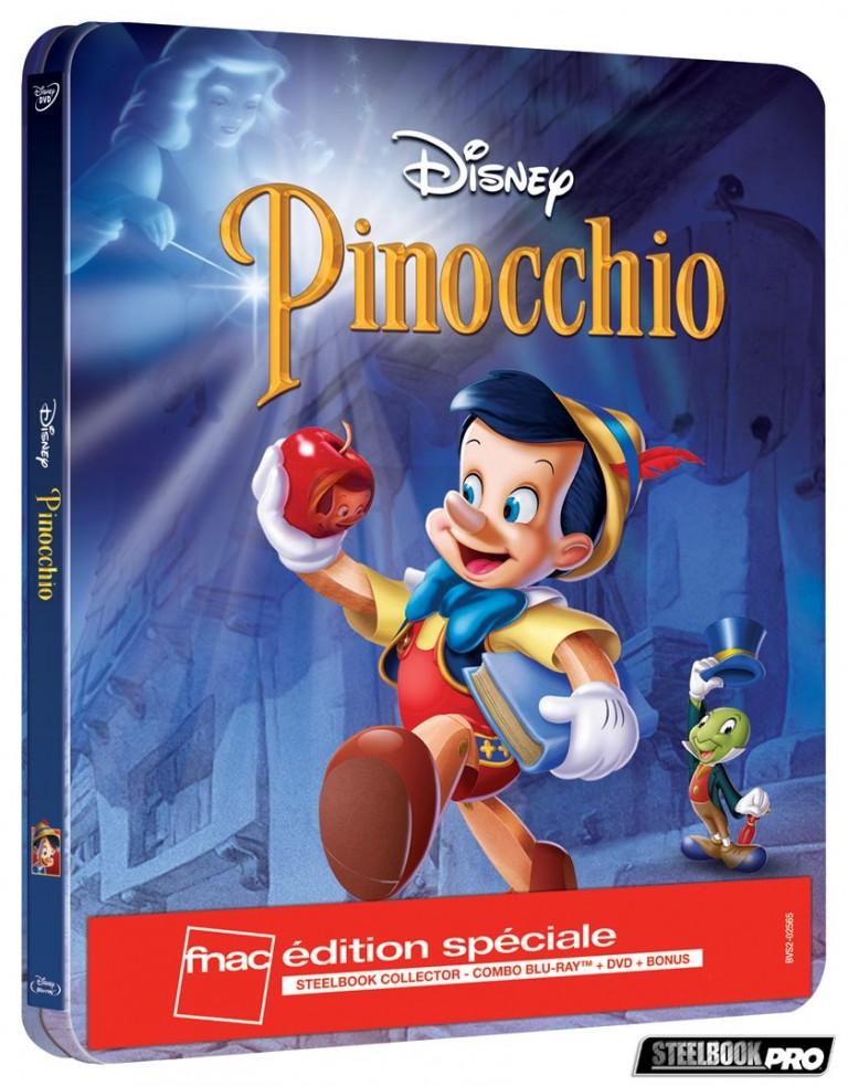 Les Blu-ray Disney en Steelbook [Débats / BD]  - Page 3 Pinocchio-steelbook-fnac-768x983