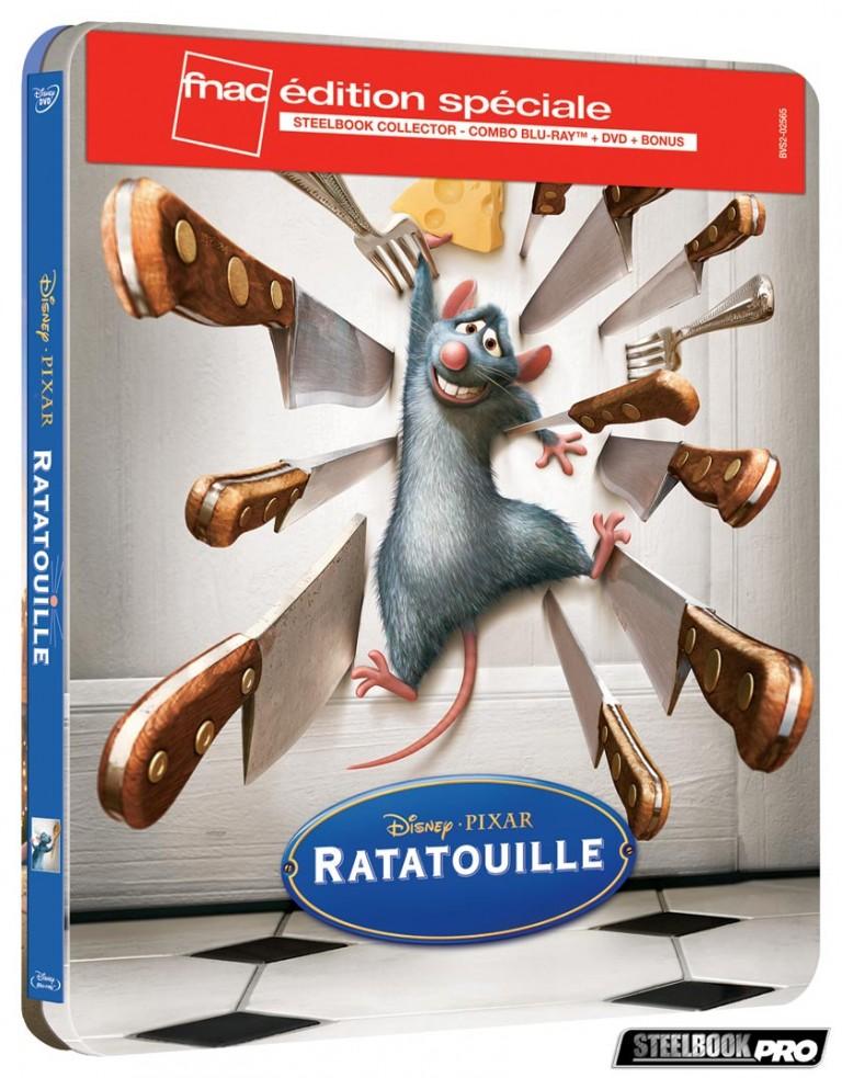 Les Blu-ray Disney en Steelbook [Débats / BD]  - Page 3 Ratatouille-steelbook-fnac-768x983