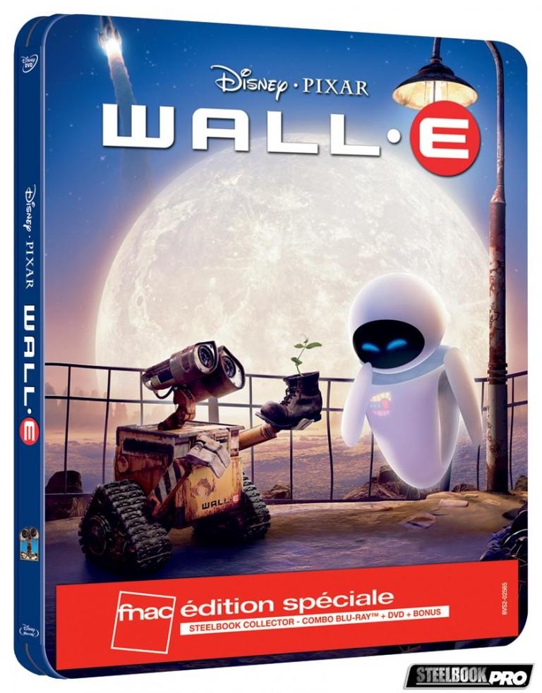 Les Blu-ray Disney en Steelbook [Débats / BD]  - Page 3 Wall-e-steelbook-fnac-768x983