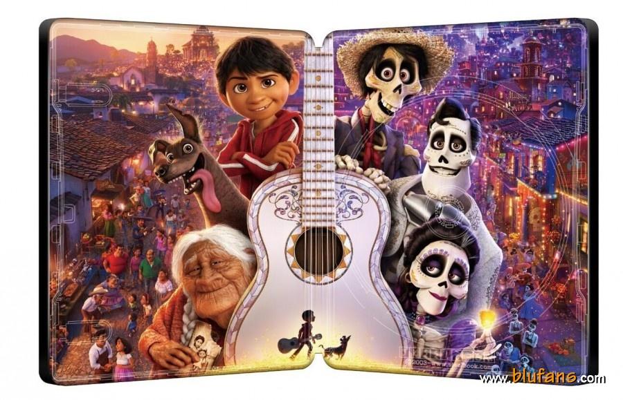 Coco [Pixar - 2017] - Page 7 Coco-Blufans-steelbook-3