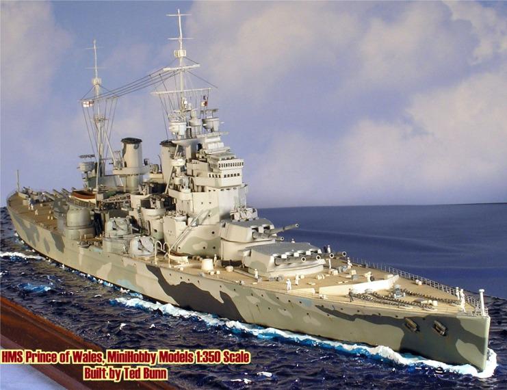 [Tamiya] HMS PRINCE of WALES 1/700 POW63tb