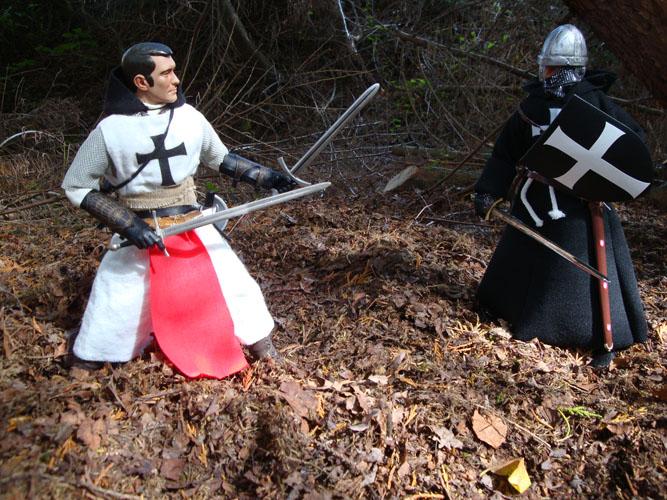 Un assassin de chevaliers croisés AssassinsCrusader10