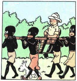 La ministre et Tintin au Congo Tin_tin_in_congo1