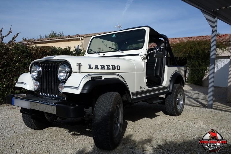 "[1982 CJ7 LAREDO] et voici ... ""El Blanco"" DSC00274"