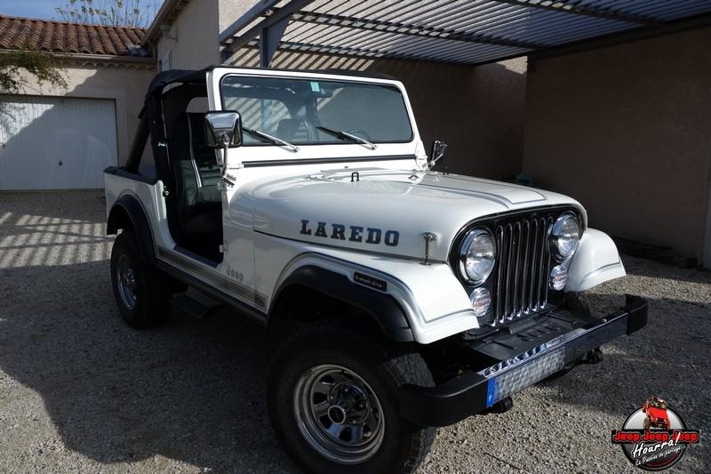 "[1982 CJ7 LAREDO] et voici ... ""El Blanco"" DSC00277"
