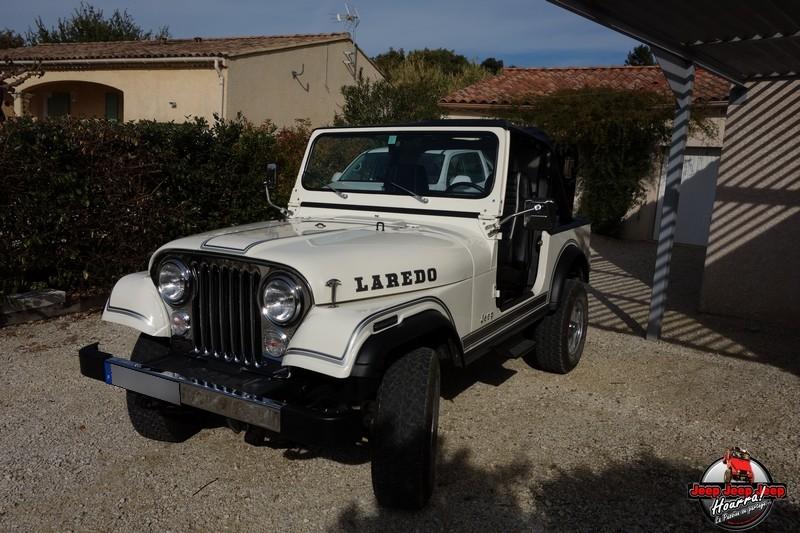 "[1982 CJ7 LAREDO] et voici ... ""El Blanco"" DSC00290"
