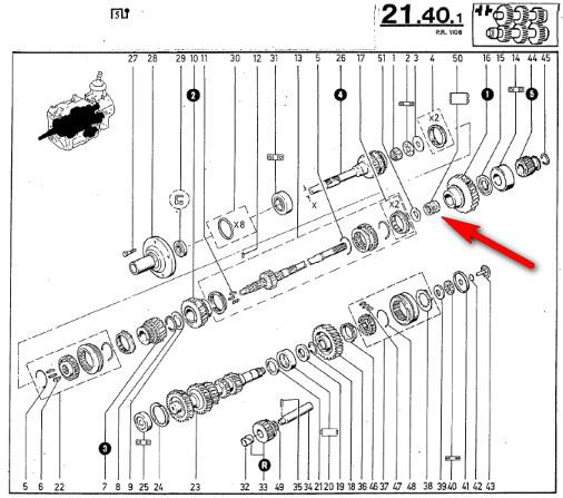 Demontage Borg Warner T5 [BV CJ7 DIESEL/2.0L ESSENCE] - Page 2 Eclata11